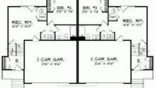 Eplans Split Level House Plan Story Duplex Square Feet