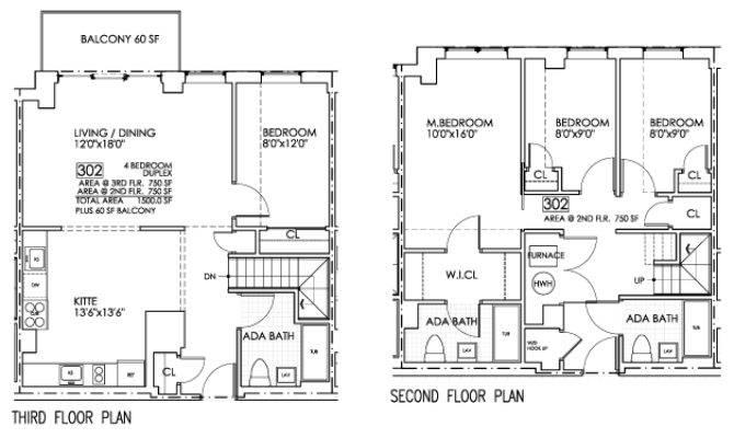 Eretz One Luxury Condominiums Floor Plans