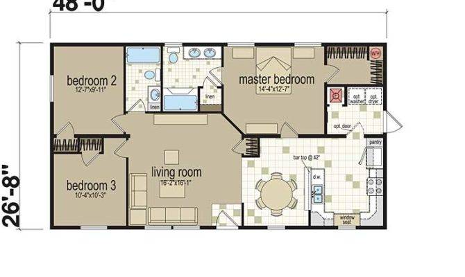 Inspiring standard home plans 6 photo home plans 3 bedroom modular home floor plans