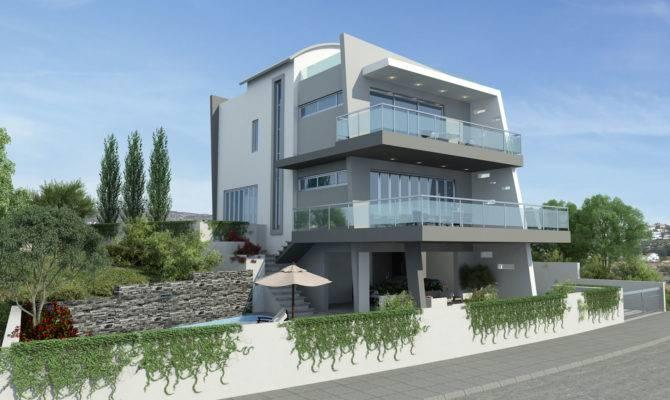 Excellent Design Ultra Modern House Plans Exterior