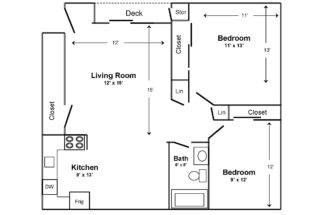 Existing Apartment Floor Plan Kna