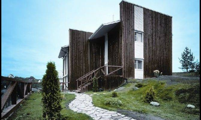Exterior Decororation Simple Country House Design Ideas