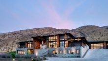 Facade Badger Mountain House Richland Contemporary