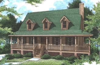Falais Rustic Country Home Plan House Plans More