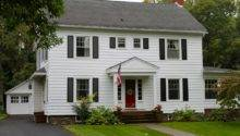 Federal Style Colonial Homes Seasons