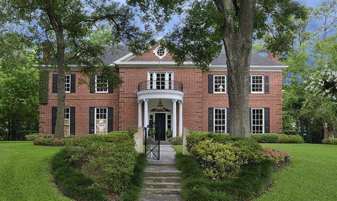 Federal Style Home Pricey Pads