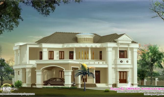 Feet Luxury Villa Kerala Home Design Floor Plans