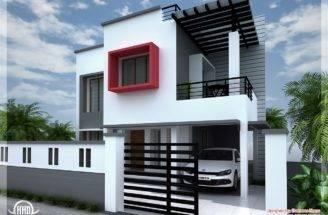 Feet Modern Contemporary Villa Kerala Home Design Floor