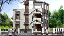 Feet Storey Villa Cents Kerala Home Design Floor Plans