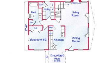 First Floorplans Second Floor Plans