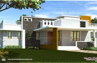 Floor Contemporary House Design Kerala Home Plans