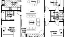 Floor Plan Bedroom Detached Bungalow Home