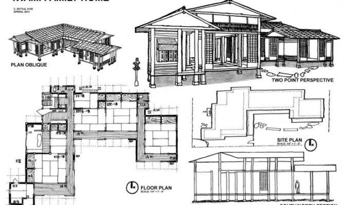 Floor Plan Cool Japanese House Plans Ideas Home Design Style