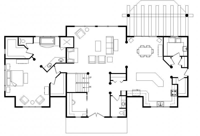 House Open Floor Plans - Escortsea