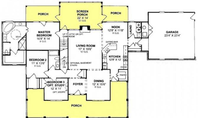 Floor Plan Handicap Accessibility House Plans Home