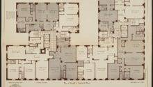 Floor Plan Individual Apartment Lines Originally