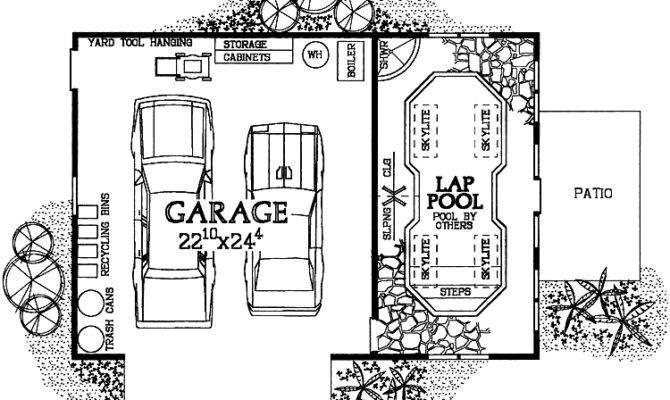 Floor Plan Indoor Pool Houses Plans Designs