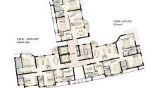 Floor Plan Jaypee Moon Court Apartments Greater Noida Suraj Real