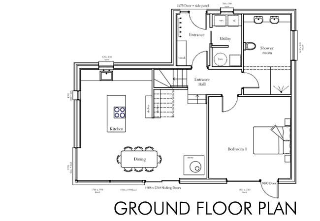 Floor Plan Self Build House Building Dream Home 35300 Building Project Planner 4 On Building Project Planner