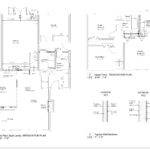 Floor Plan Sketches Displaying Interior Design
