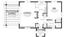 Floor Plans Aflfpw Story Mediterranean Home Bedroom