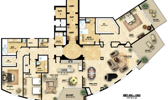 Floor Plans Architecture House Home