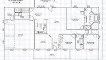 Floor Plans Basement Ranch House Plan