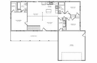 Floor Plans Bedroom House Three Two Bath