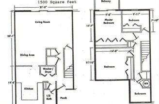 Floor Plans Bedroom House