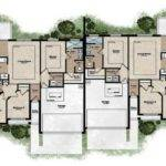 Floor Plans Design Single House Duplex Building