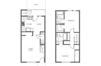 Floor Plans Our Spacious Rental Apartment Homes Branson Missouri