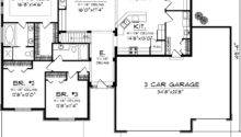 Floor Plans Ranch Homes Bedrooms Quotes
