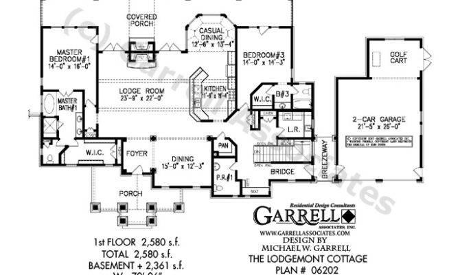Floor Plans Ranch House European