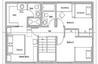 Floor Plans Simple House Green Home