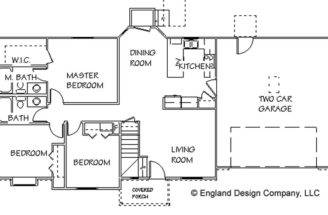 Floor Plans Small House Simple Country