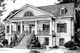 Four Bedroom Greek Revival