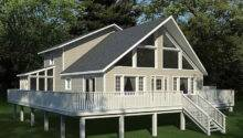 Frame House Plans Home Small Timber