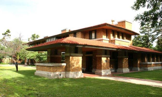 Frank Lloyd Wright Prairie Style Allen House