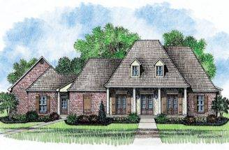 Frazier Louisiana House Plans Acadian