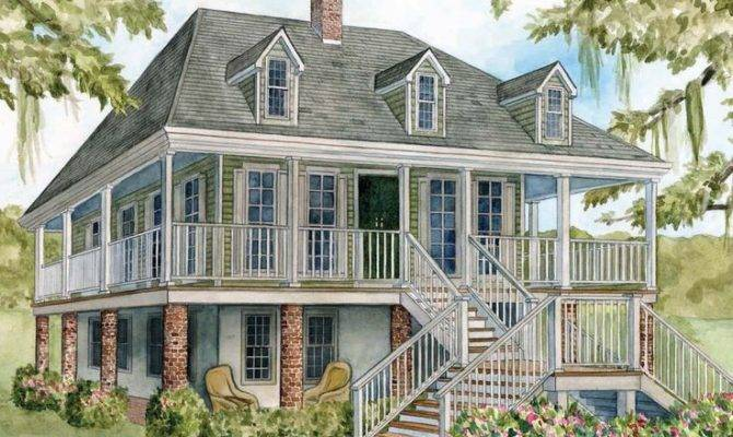 French Colonial House Plans Architecture History