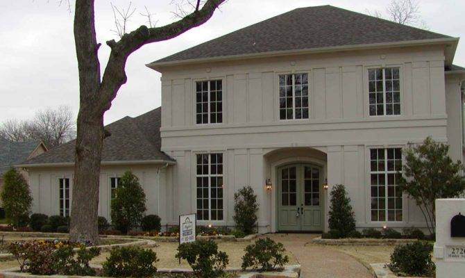 French Colonial Stucco Dream Home Pinterest