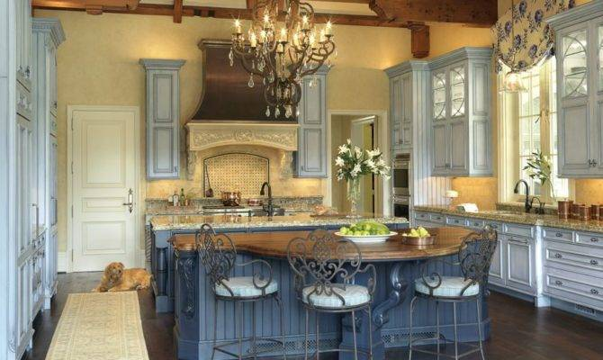 French Country Kitchens Pinterest Decorating