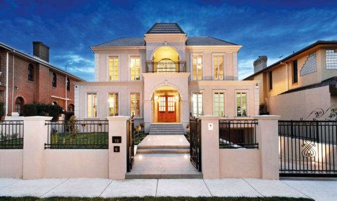 French Provincial Moonee Ponds Rockshore Homes