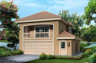 Fresno Bay Southwestern House Plan Alp Chatham Design Group