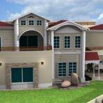 Front Elevation House Bill Gates Design