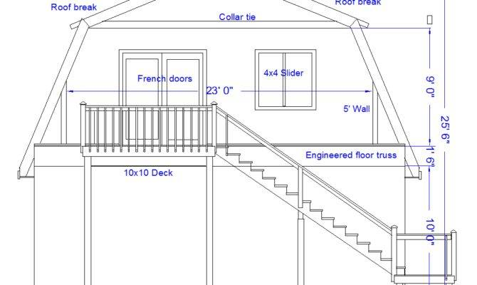 Awesome Gambrel Roof Designs Pictures Home Plans