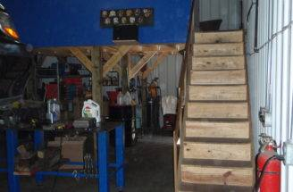 Garage Attic Storage Ideas Alcowin Overhead Door