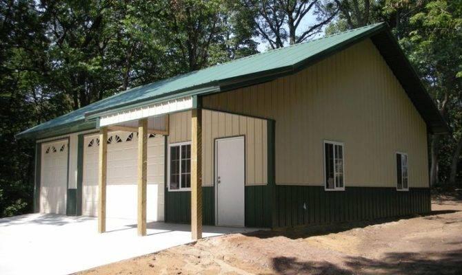 Garage Idea Home Building Quality Pole Buildings Steel