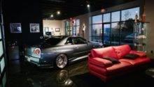 Garage Living Room House Pinterest