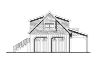 Garage Loft Plans Two Car Plan Shop Design